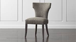 sasha upholstered dining chair crate and barrel