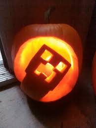 minecraft creeper pumpkin ideas google search pumpkins
