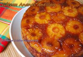 cuisine cr駮le facile gâteau antillais à l ananas sandrine cuisine façon créole