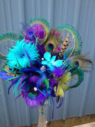 Peacock Centerpieces Peacock Wedding Palette Peacock Wedding Ideas And Inspirations