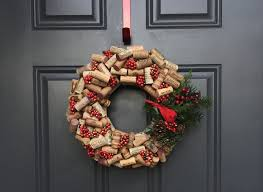 let u0027s get crafty wine cork christmas wreath corkandspoon