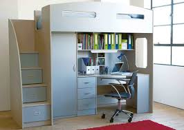 Loft Beds With Desks And Storage Odyssey Space Saver Bunk Bed Steps Instead Of Ladders Which Are