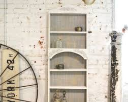 White Cottage Bookcase by Bookcase Etsy