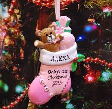 personalized baby christmas ornament 18 best christmas babies ornament images on