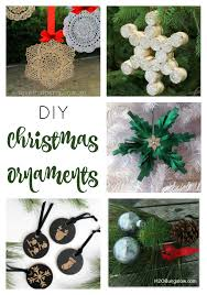 diy christmas ornaments link party 177 mom skills