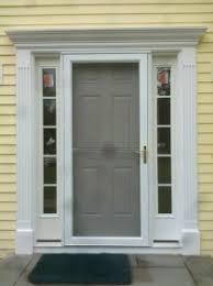 Pvc Exterior Doors Saulo Stewart Carpentry Rotten Trim Replacement For Pvc