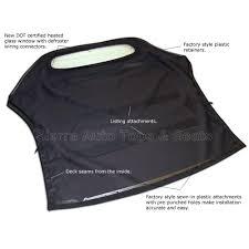 mitsibushi eclipse 2000 2005 convertible top tan stayfast cloth