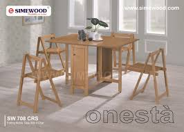 Folding Wood Dining Table Folding Wooden Tables And Chairs Homeca
