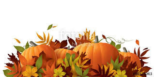 thanksgiving background pumpkins and autumn leaves stock image