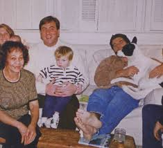 John F Kennedy Jr November 1997 U2013 Thanksgiving With Billy Noonan And Family