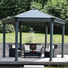 Easy Diy Garden Gazebo by Best Garden Gazebos And Canopies Design Home Ideas