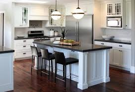 kitchen islands large black and white kitchen island with ralph mccarren globe