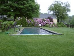 amazing backyard gardening ideas with rectangular pool ideas also