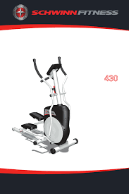 schwinn elliptical trainer 430 user guide manualsonline com