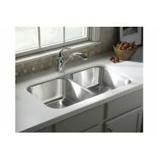 sterling kitchen sinks sterling 11406 na mcallister mcallister series double basin