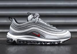 nike air silver surprise the nike air max 97 silver bullet is popping up at select