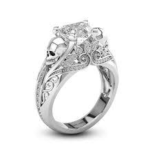 vancaro engagement rings womens skull wedding rings skull ringsskull engagement ringskull