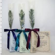 Memorial Service Favors Classic Tree Seedling Favors The Greenworld Project