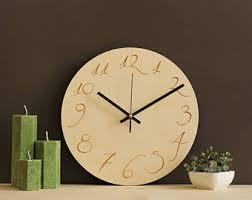 Scandinavian Wall Clock Wood Wall Clock