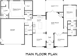 bedroom creative one story house plans with two master bedrooms