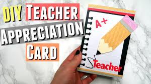 appreciation cards diy appreciation card ideas handmade cards for