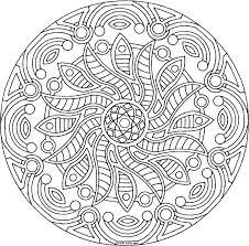 grown up coloring pages mandala coloringstar
