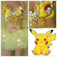 Pikachu Costume Pokemon Pikachu Costume Pokemon Costume Cosplay Costume