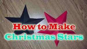 how to make christmas star with paper christmas craft diy