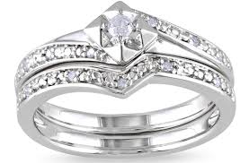 Sterling Silver Wedding Ring Sets by Engagement Rings Diamond Wedding Rings Stunning Engagement Rings