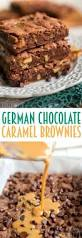 german chocolate caramel brownies mom on timeout