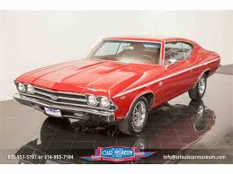 Upholstery St Louis Mo Chevrolet Chevrolet Chevelle Ss For Sale In St Louis Missouri