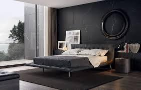 modern black bedroom design home design ideas