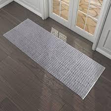 tapis de cuisine lavable en machine lifewit tapis 180 x 65 cm absorbant antidérapant en microfibre grand