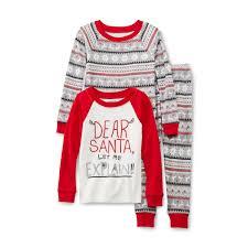 wonderkids infant u0026 toddler boy u0027s christmas pajama shirts u0026 pants