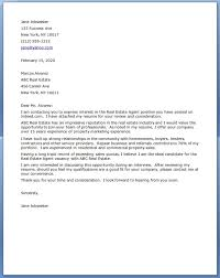 bunch ideas of cover letter for job application real estate agent