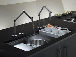 kohler karbon kitchen faucet kohler karbon faucet and stages 45 mount sink