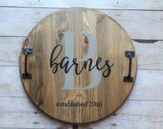 personalized trays custom 15 wooden gather serving tray with handles gather