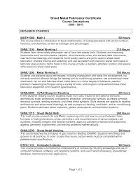Sheet Metal Resume Examples by Welder Fabricator Resume Templates Youtuf Com