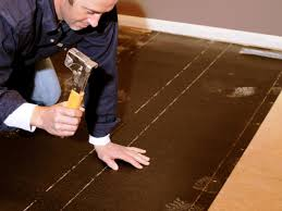 Install Laminate Flooring Over Concrete How To Install Prefinished Solid Hardwood Flooring How Tos Diy