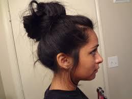 black hair bun easy bun hairstyles for hair hairstyle for women