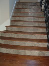 thorntree slate houston texas quartzite and wood stairs interior