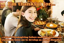 someecards what everyone in your family is actually thankful