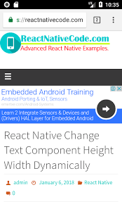 android default browser react open website url in default browser ios android exle