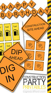 best 25 construction party favors ideas on pinterest digger