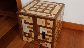 How To Make A Crafting Table Minecraft Furniture Real Life Interior Design