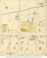 waco map sanborn maps of perry castañeda map collection ut