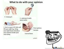 Meme Opinion - take your opinion by hollowvoices meme center