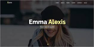 46 best personal website templates free themes creative template
