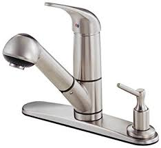 Kitchen Faucet Plate Danze D455612ss Single Handle Pull Out Kitchen Faucet With