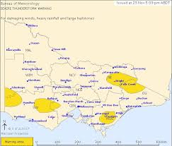 bureau of metereology bureau of meteorology issues warning for thunderstorms the courier